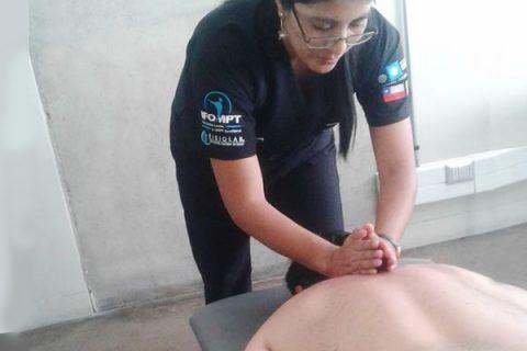 Liberación miofacial fisiomejorar sangolquí